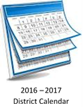 2016 - 2017 District Calendar